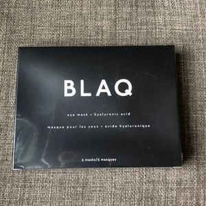 🆕 BLAQ Charcoal Hyaluronic Acid Eye Masks